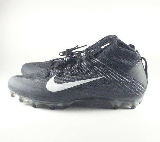 Nike Untouchable 2 CF Mens Size Black/White Football Cleats 001