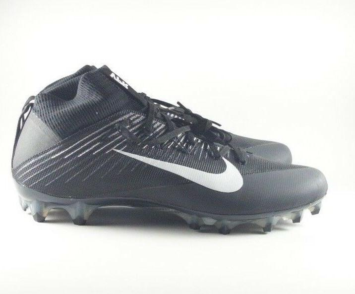 Nike Untouchable 2 CF Black/White Football Cleats 001
