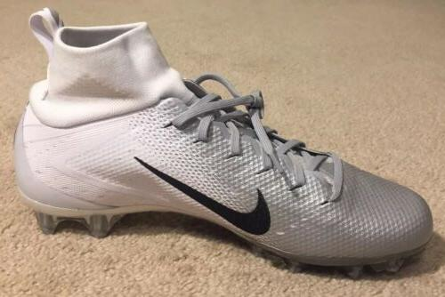 Nike Pro 3 Cleats Silver 917165-112 NEW 12