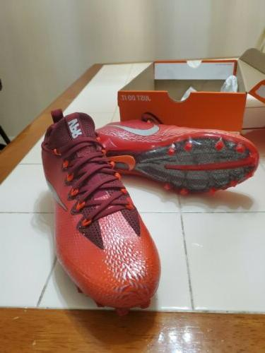 Nike Football Cleats,833385-608,Red,Men's