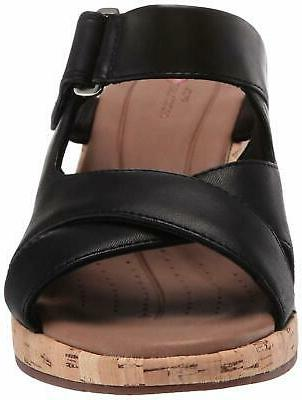 CLARKS Plaza Slide Wedge - Choose SZ/Color