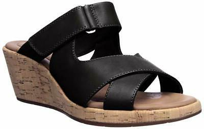 women s un plaza slide wedge sandal