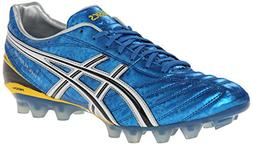 ASICS Men's Lethal Flash DS Soccer Shoe,Pacific Blue/Black/W