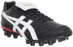 ASICS Men's Lethal Testimonial It Soccer Shoe,Black/White,6.