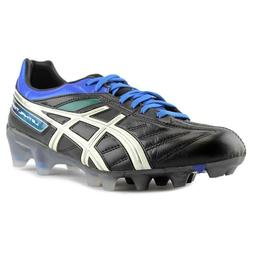 Asics Lethal Tigreor 4 IT Cleats Men Round Toe leather Black
