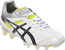 ASICS Men's Lethal Tigreor 4 IT Soccer Shoe,Black/White/Paci