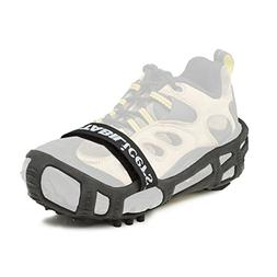 STABILicers Men's Stabilicers Lite Hiker Ice Cleats,Black,L
