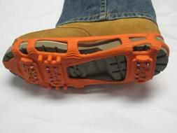 Stabilicers Lite Ice Cleats ORANGE XL, 13.5/16 M by 32north