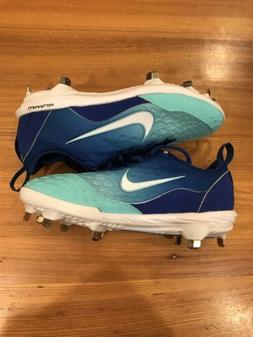 Nike Lunar Hyperdiamond 2 Women SZ 7 Softball Cleats Blue Te