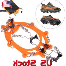 Mat Ice Snow Crampons Hiking Climbing Gripper Anti-slip Shoe