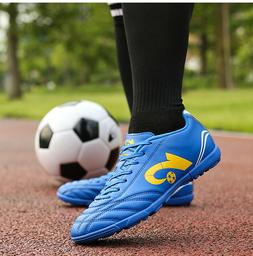 Men Boys Soccer Cleats Shoes Indoor TF Football Shoes Traine