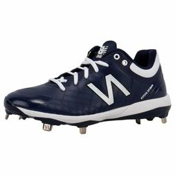 New Balance Men's 4040v5 Metal Low Baseball Cleats Navy Blue