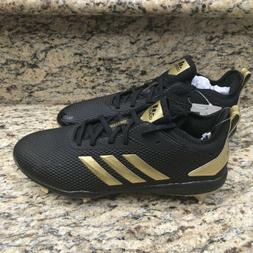 adidas Men's Adizero Afterburner V Baseball Cleats, Black Go