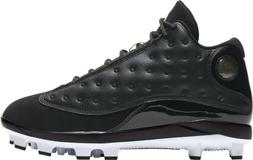 Nike Men's Air Jordan RETRO XIII MCS Baseball Cleats Black/W
