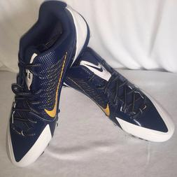 MEN'S NIKE ALPHA PRO Navy / white FOOTBALL LACROSSE RUGBY CL