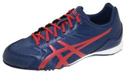 Asics Men's Base Burner Baseball Cleat Indigo Blue/Racing Re