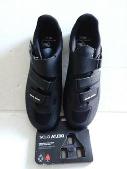 Pearl IZUMI. Men's Bicycling Shoes Size10 Eur 44 and Delta C
