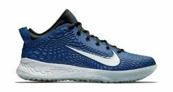 Men's Nike Force Zoom Trout 5 Turf Baseball Shoes Gym Blue A