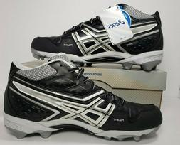 ASICS Men's GEL-Provost Mid Lacrosse Cleat - Size 12.5
