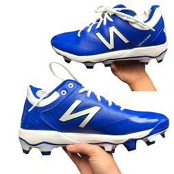 New Balance Men's Hommes PL4040B5 Royal Blue Cleats