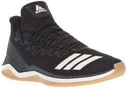 adidas Men's Icon 4 Baseball Shoe, Black/Cloud White/Carbon,