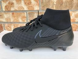 Men's Nike Magista Onda II DF FG Soccer Cleats All Black Siz