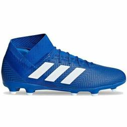 Adidas Men's Nemeziz 18.3 FG Soccer Cleats New DB2109 Royal