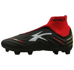 Men's Professional Soccer Cleats Concord S178GB Black/Red