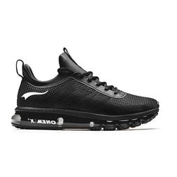 Onemix Men's Synthetic Leather Waterproof Sports Running Sho