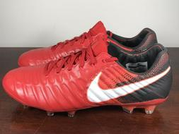 Men's Nike Tiempo Legend VII FG Soccer Cleats University Red