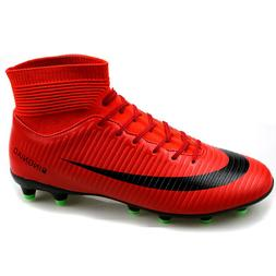 Men Soccer Shoes Outdoor Sports Football Cleats Shoes High T