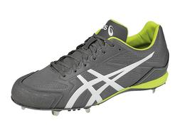 ASICS Mens Base Burner Baseball Cleats K600Y 9707 Titanium W