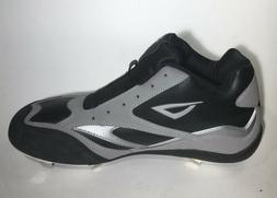 3N2 Mens Flexcore Baseball Shoes NWT Silver/Black Size 12 Me
