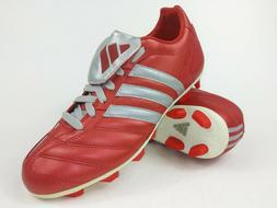 Adidas Mens Rare Manado TRX FG 147341 Red Grey Soccer Cleats