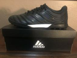 Adidas Mens Soccer Cleats Copa 19.3 TF.  All Black. New With