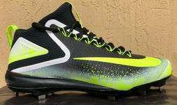Mens Nike Zoom Trout 3 ASG Baseball Cleats Size 11 Volt/Blac