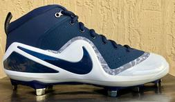 Mens Nike Zoom Trout 4 Baseball Cleats Size 9/10/11 Navy Blu