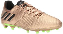 adidas Men's Messi 16.2 Firm Ground Cleats Soccer Shoe, Copp