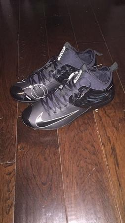 Nike Mike Trouts all black baseball cleats size 12