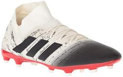 adidas Men's Nemeziz 18.3 Firm Ground, Off White/Black/Activ