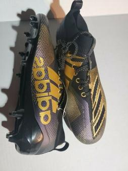 NEW Adidas Adizero 8.0 D97650 Black/Purple/Gold Football Cle