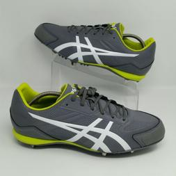 *NEW* Asics Base Runner  Baseball Cleats Titanium White Lime