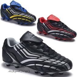 New Boys Girls Outdoor Soccer Tennis Shoes Cleats Youth Kids