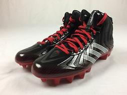 NEW adidas Crazyquick Mid - Black/Red Cleats