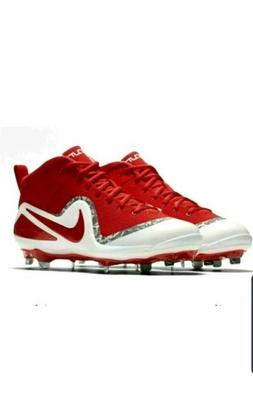 ⭐ NEW Nike Force Zoom Trout 4 Mid Metal Baseball Cleats 91