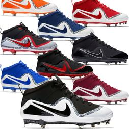 New NIKE FORCE ZOOM TROUT 4 Mid Metal Mens Baseball Cleats