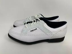 NEW FOOTJOY GREENJOYS WOMENS WHITE SOFT SPIKES GOLF CLEATS S