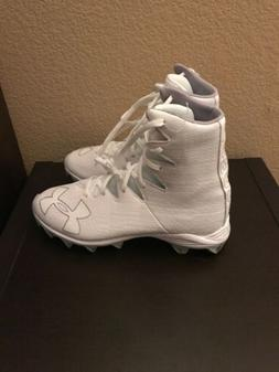 New Under Armour Highlight Rm Jr White Football/Lacrosse Cle