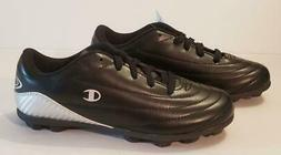 NEW Champion Kids Soccer Cleats Size 2 Black New with Tag