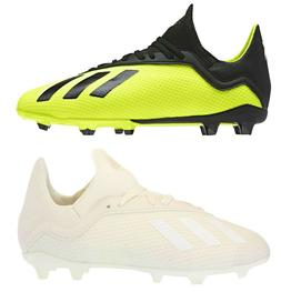 NEW Adidas Kids` Soccer Shoes Boys' X 18.3 Firm Ground Cle